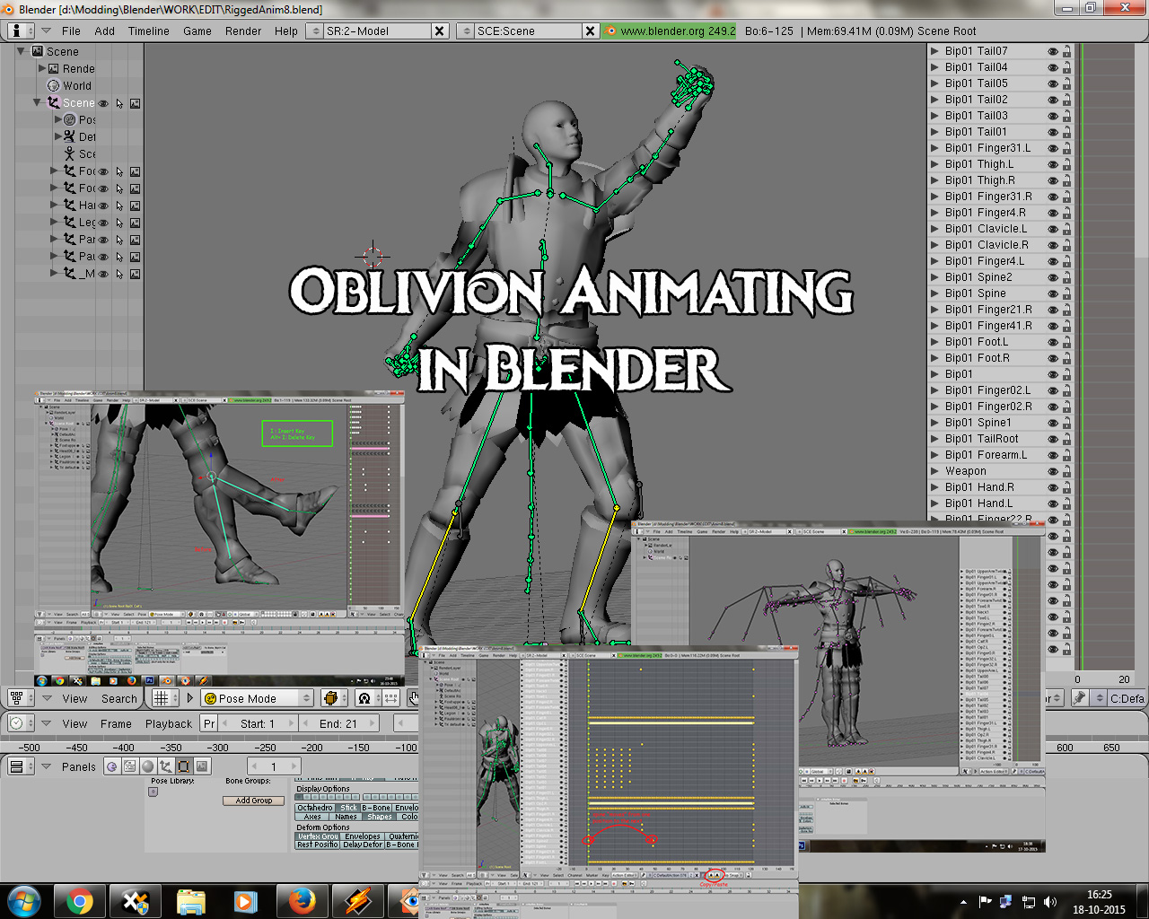 Oblivion animation nackt gallery