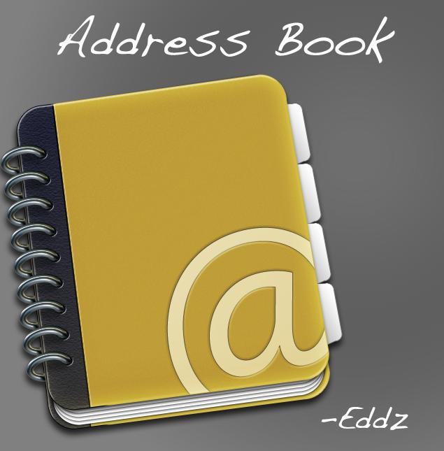 Address Book 2009 by No-1-Balla