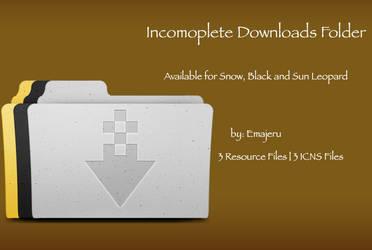 Incomplete Downloads Folder