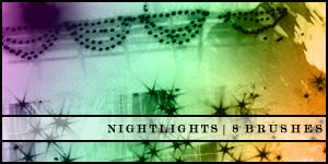 Brushes - Nightlights by expressoneself