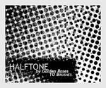 Brushes Halftone