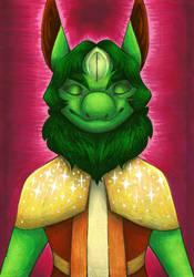 I MOVE: Green Traditional Portrait