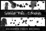 Splatter Trails - 15 Brushes