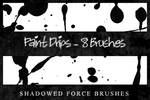 Paint Drips - 8 Brushes
