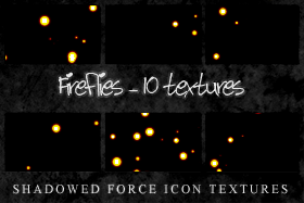 Fireflies - 10 Icon Textures by ShadowedForce