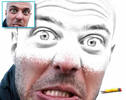 Pencil Draw Photoshop Action