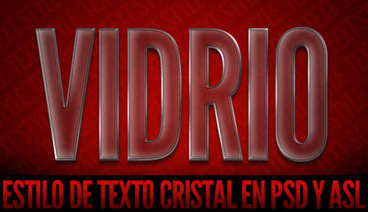 Estilo de Texto Cristal by bati1975