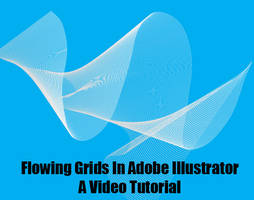 Flowing Grids in Illustrator by BarryKiddPhotography