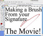 Your Signature to Brush Movie by BarryKiddPhotography