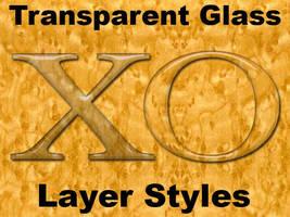 Luckys Transparent Glass by BarryKiddPhotography
