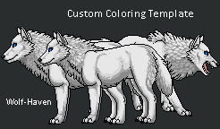 NEW Wolf Haven Custom Template