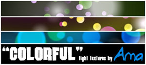 Colorful Light Textures