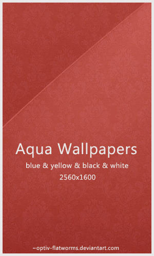 Aqua Wallpapers by optiv-flatworms