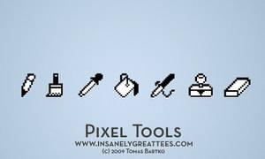 Pixel Tools Wallpaper