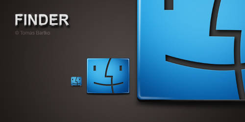 Finder icon by optiv-flatworms