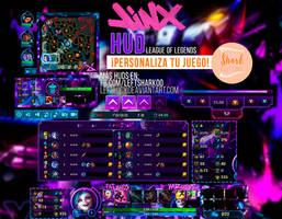 Jinx HUD League of Legends by LeftLucy