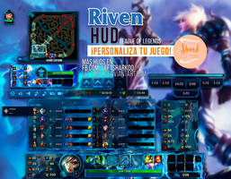 Championship Riven HUD League of Legends by LeftLucy