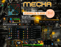 Mecha HUD League of Legends by LeftLucy
