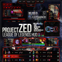 Project Zed League of Legends HUD by LeftLucy