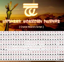 Crystal Bearers Script - font