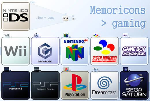 Memoricons : gaming