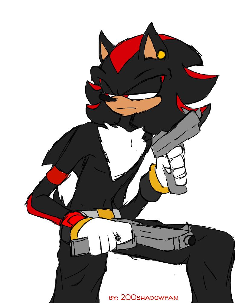 Shadow The Hedgehog by 200shadowfan