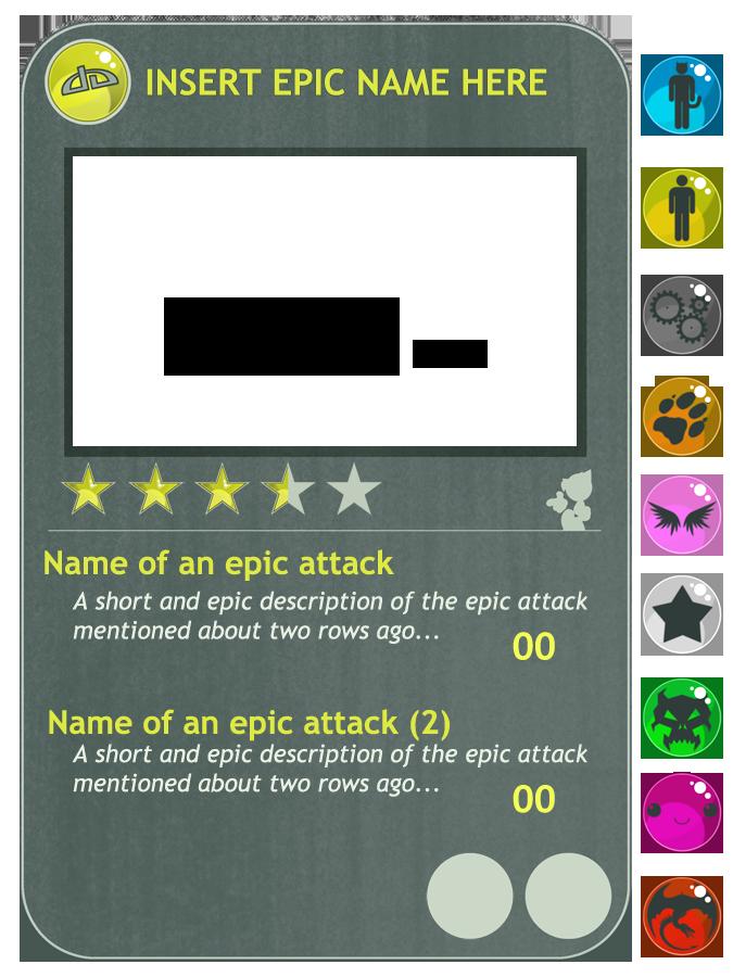 DeviantART Trading Card Game by Cacio044