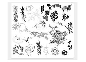 Floral and Assorted ornaments