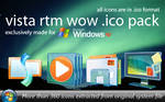 Vista RTM Wow .ico Pack
