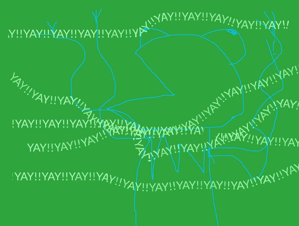 Kermity Yay by Andrea-Perry