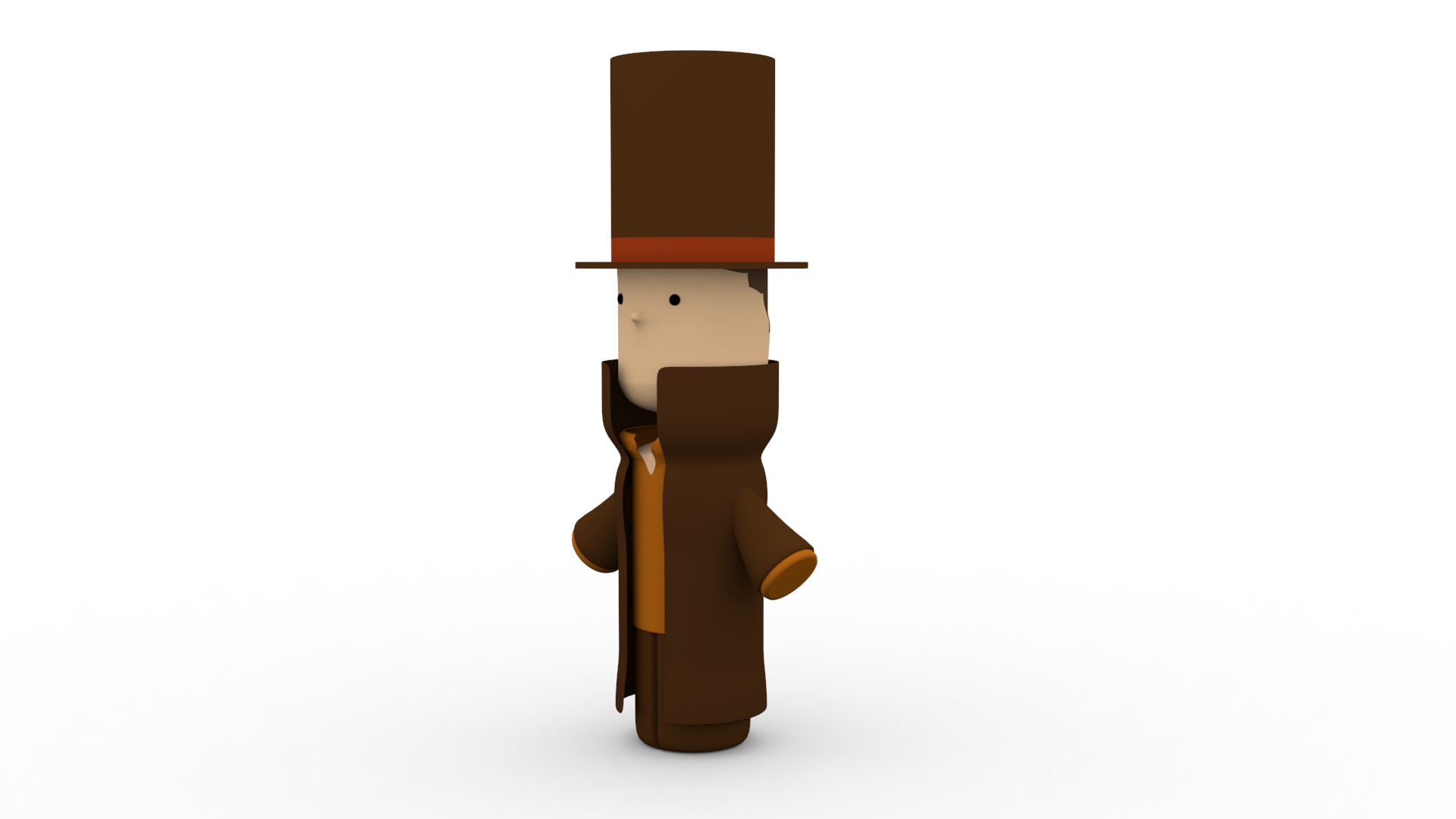 Printable Professor Layton by SuicideParker