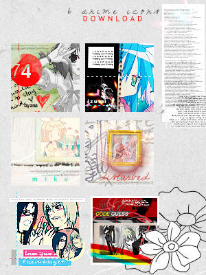 2 packs de Icons Anime random n_nU 002__6_Anime_Icons_by_caotiicah