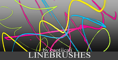 Line brushes by caotiicah
