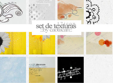 Set de 17icontexturas by caotiicah