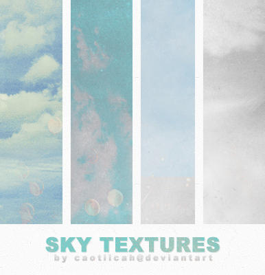 Sky Textures by caotiicah