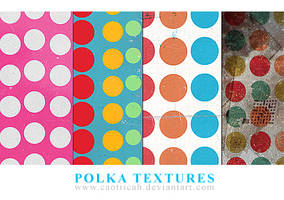Polka Duts Textures by caotiicah