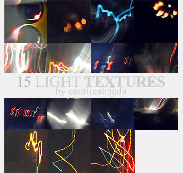 Icon Light Textures by caotiicah