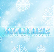 Snowflake Brushes by caotiicah