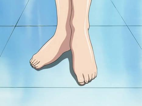 Miki Yunaki's Feet