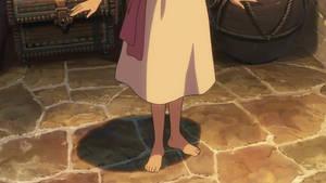 Asuna Watase's feet 1