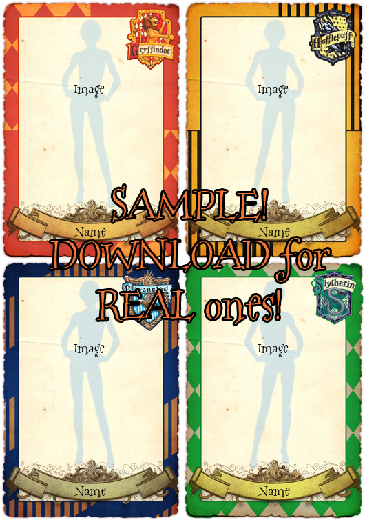 Hogwarts Character Templates by Helix-Wing on DeviantArt