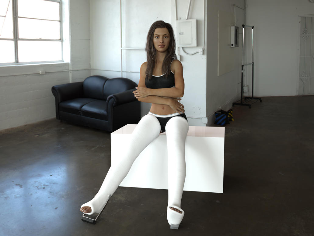 Long Leg Casts For Genesis 3 Female By Rizzo Cast On Deviantart