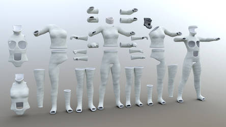 Cast Collection For Genesis 3 Female