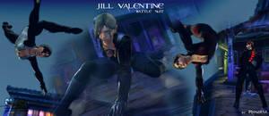 Cammy - Jill Valentine battle suit mod by Rhazieul
