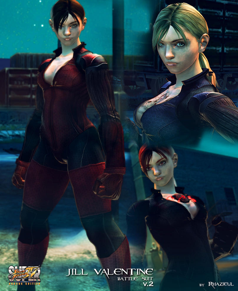 Cammy - Jill Valentine battle suit v.2 mod by Rhazieul