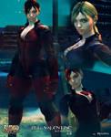 Cammy - Jill Valentine battle suit v.2 mod