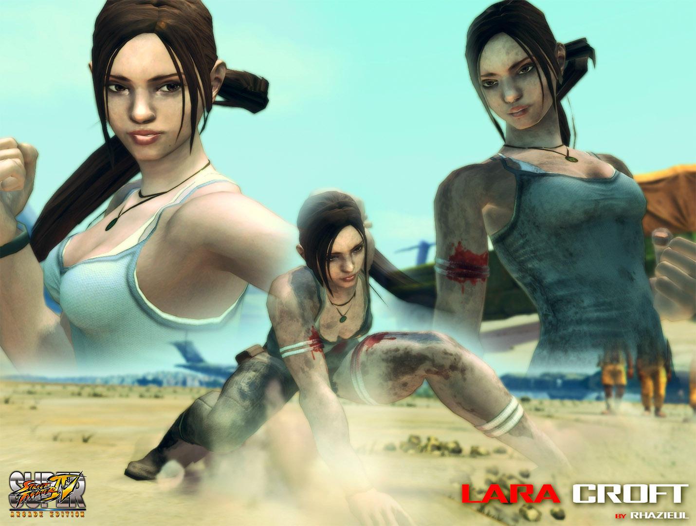 Cammy - Lara Croft mod by Rhazieul