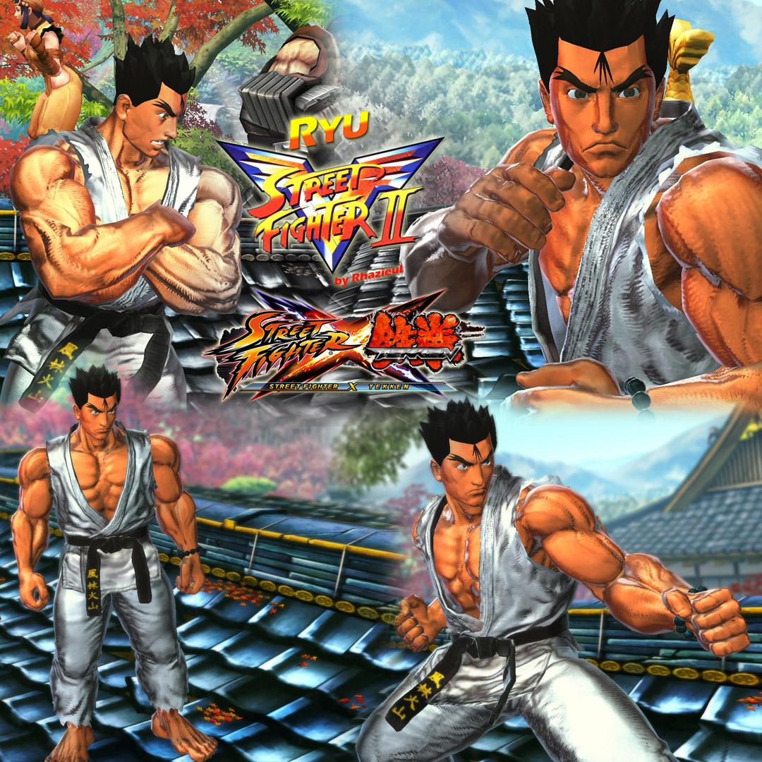 Ryu Street Fighter Ii Victory For Sfxt By Rhazieul On Deviantart