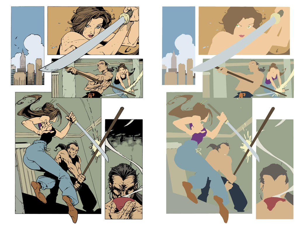 Randy green Page FLATS by jotazombie
