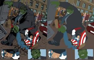 ULT Avenger FLATS by jotazombie